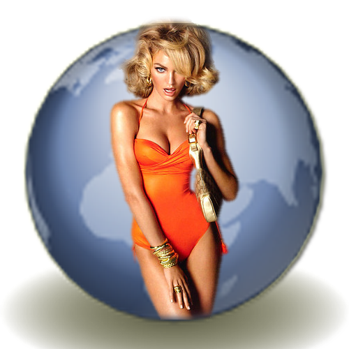 ico,png,иконки,icons,Browser,Firefox,браузер,3d,girl